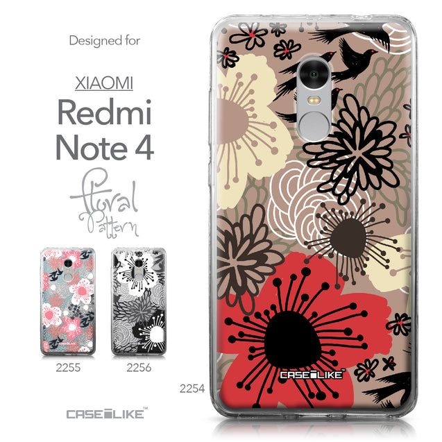 Xiaomi Redmi Note 4 case Japanese Floral 2254 Collection | CASEiLIKE.com