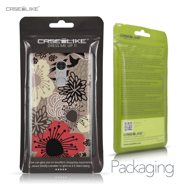 Xiaomi Redmi Note 4 case Japanese Floral 2254 Retail Packaging | CASEiLIKE.com