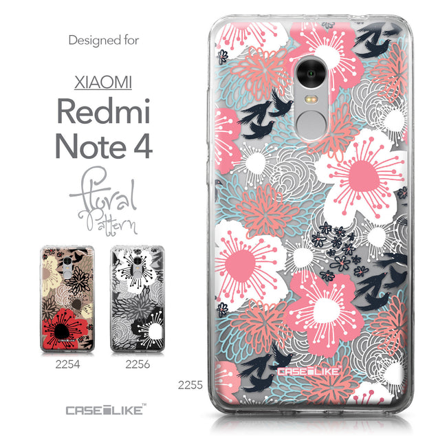 Xiaomi Redmi Note 4 case Japanese Floral 2255 Collection | CASEiLIKE.com