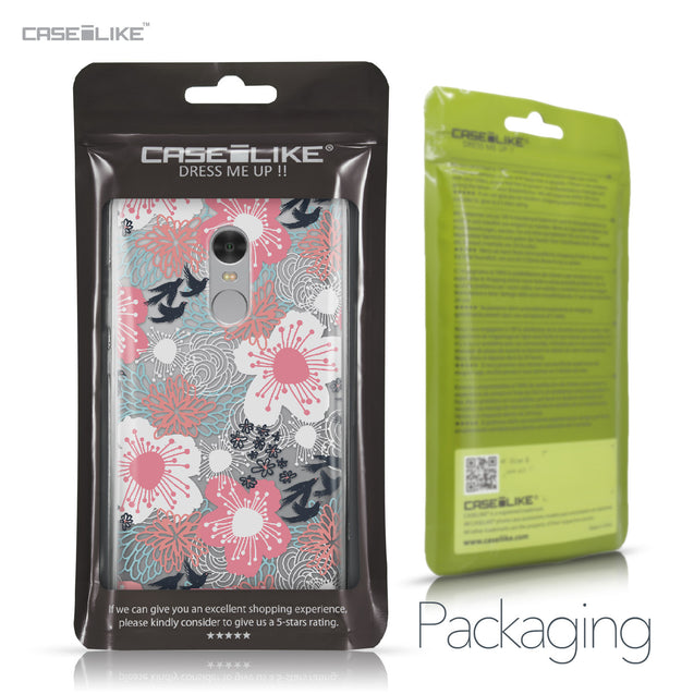 Xiaomi Redmi Note 4 case Japanese Floral 2255 Retail Packaging | CASEiLIKE.com
