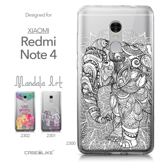 Xiaomi Redmi Note 4 case Mandala Art 2300 Collection | CASEiLIKE.com