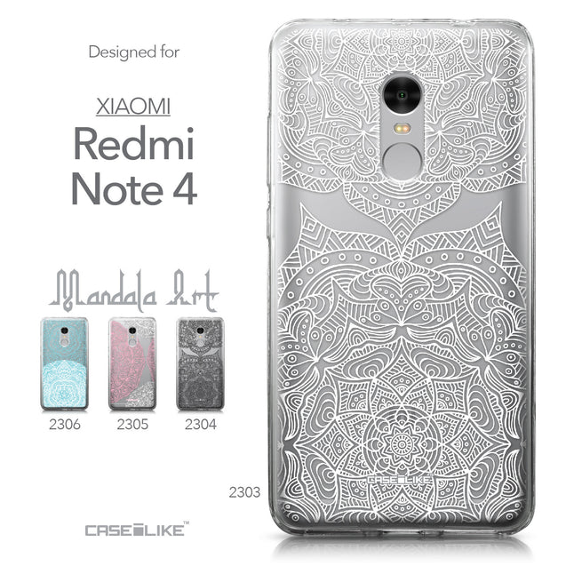 Xiaomi Redmi Note 4 case Mandala Art 2303 Collection | CASEiLIKE.com