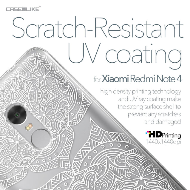 Xiaomi Redmi Note 4 case Mandala Art 2303 with UV-Coating Scratch-Resistant Case | CASEiLIKE.com