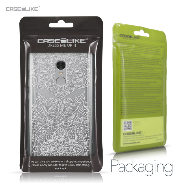 Xiaomi Redmi Note 4 case Mandala Art 2303 Retail Packaging | CASEiLIKE.com