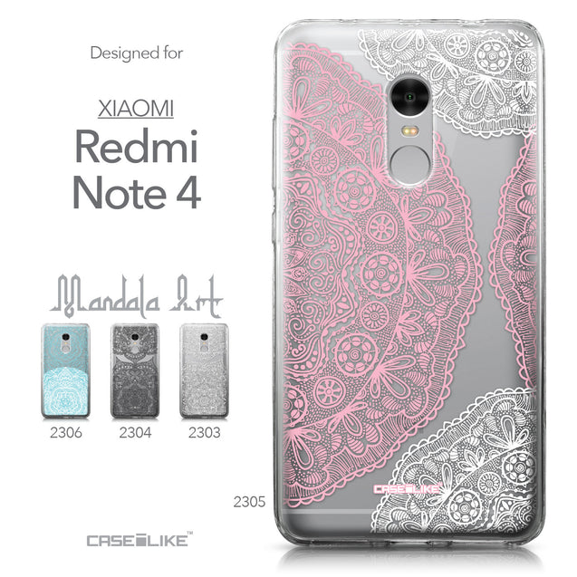 Xiaomi Redmi Note 4 case Mandala Art 2305 Collection | CASEiLIKE.com