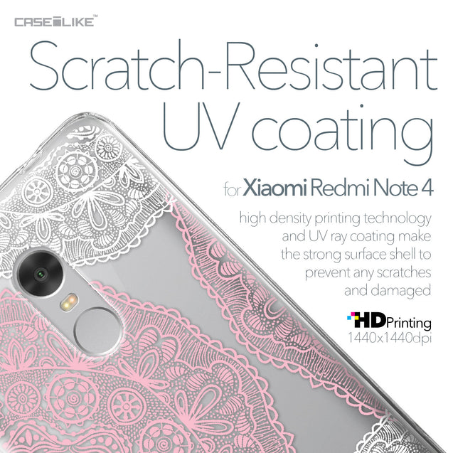 Xiaomi Redmi Note 4 case Mandala Art 2305 with UV-Coating Scratch-Resistant Case | CASEiLIKE.com