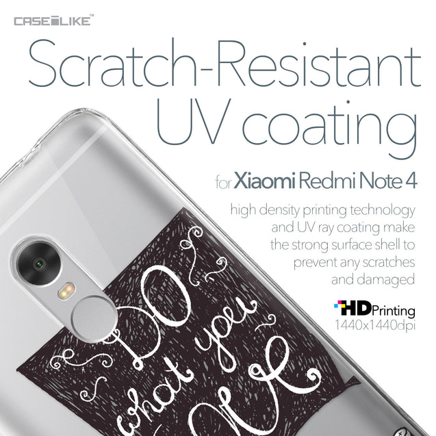 Xiaomi Redmi Note 4 case Quote 2400 with UV-Coating Scratch-Resistant Case | CASEiLIKE.com