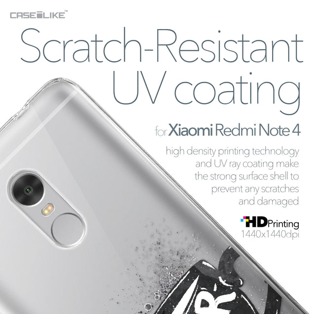 Xiaomi Redmi Note 4 case Quote 2402 with UV-Coating Scratch-Resistant Case | CASEiLIKE.com