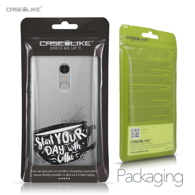 Xiaomi Redmi Note 4 case Quote 2402 Retail Packaging | CASEiLIKE.com