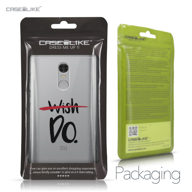 Xiaomi Redmi Note 4 case Quote 2407 Retail Packaging | CASEiLIKE.com