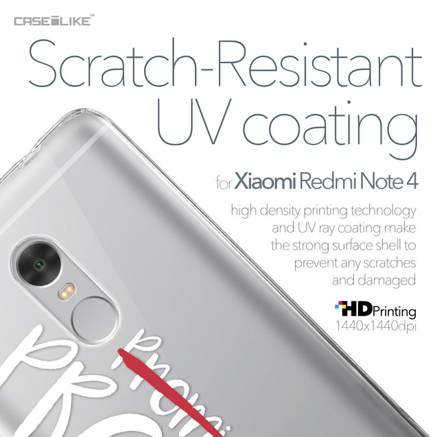 Xiaomi Redmi Note 4 case Quote 2409 with UV-Coating Scratch-Resistant Case | CASEiLIKE.com
