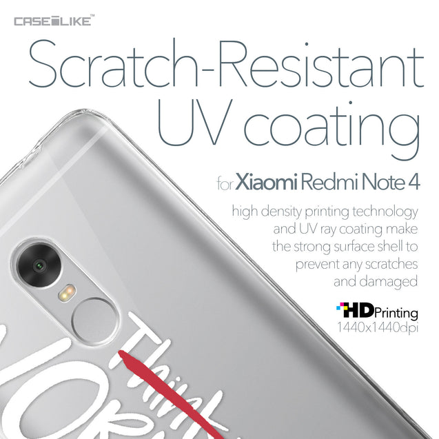 Xiaomi Redmi Note 4 case Quote 2411 with UV-Coating Scratch-Resistant Case | CASEiLIKE.com