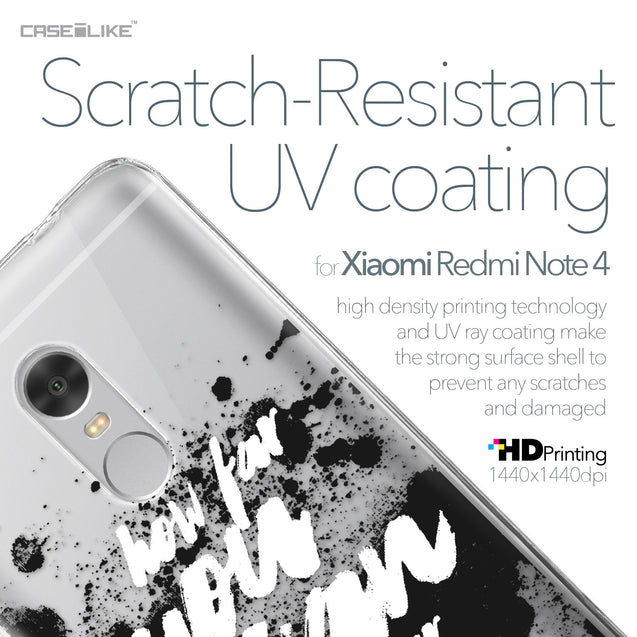 Xiaomi Redmi Note 4 case Quote 2413 with UV-Coating Scratch-Resistant Case | CASEiLIKE.com