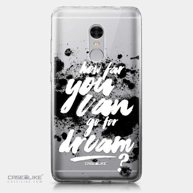 Xiaomi Redmi Note 4 case Quote 2413 | CASEiLIKE.com
