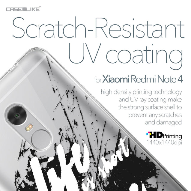 Xiaomi Redmi Note 4 case Quote 2416 with UV-Coating Scratch-Resistant Case | CASEiLIKE.com