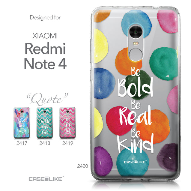 Xiaomi Redmi Note 4 case Quote 2420 Collection | CASEiLIKE.com