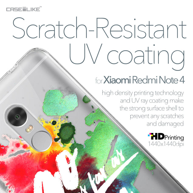 Xiaomi Redmi Note 4 case Quote 2424 with UV-Coating Scratch-Resistant Case | CASEiLIKE.com