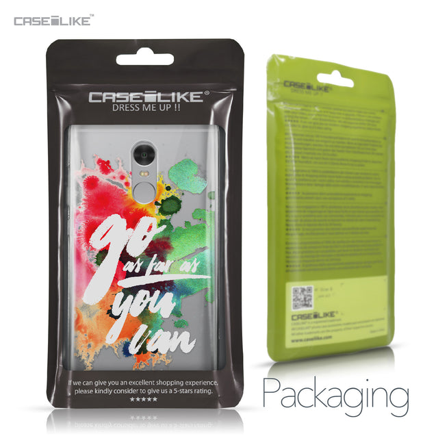 Xiaomi Redmi Note 4 case Quote 2424 Retail Packaging | CASEiLIKE.com