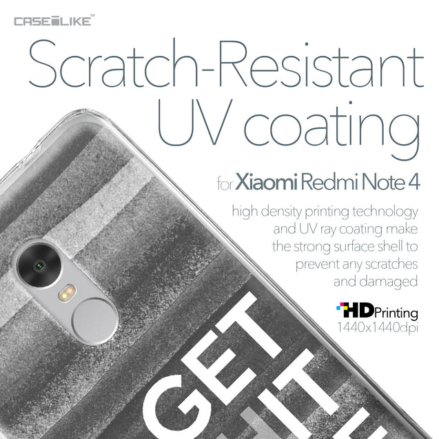 Xiaomi Redmi Note 4 case Quote 2429 with UV-Coating Scratch-Resistant Case | CASEiLIKE.com