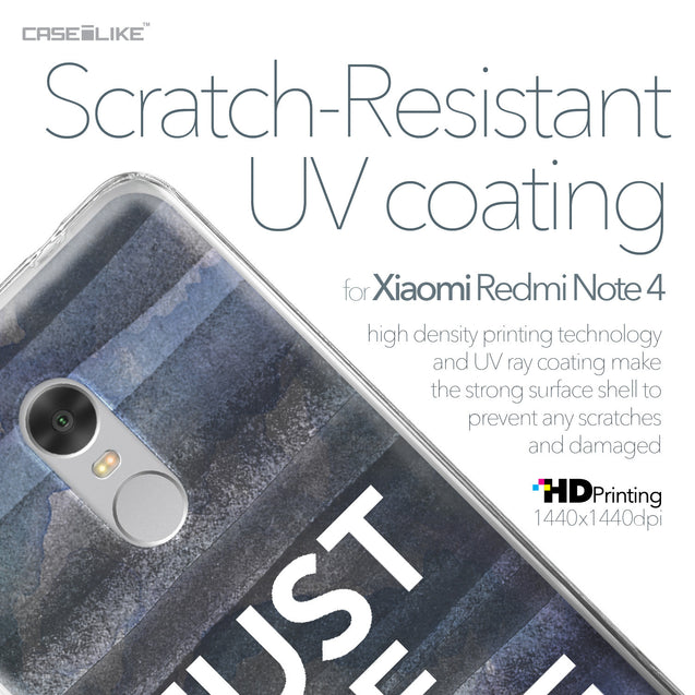 Xiaomi Redmi Note 4 case Quote 2430 with UV-Coating Scratch-Resistant Case | CASEiLIKE.com