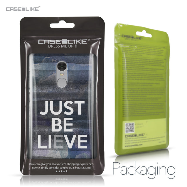 Xiaomi Redmi Note 4 case Quote 2430 Retail Packaging | CASEiLIKE.com