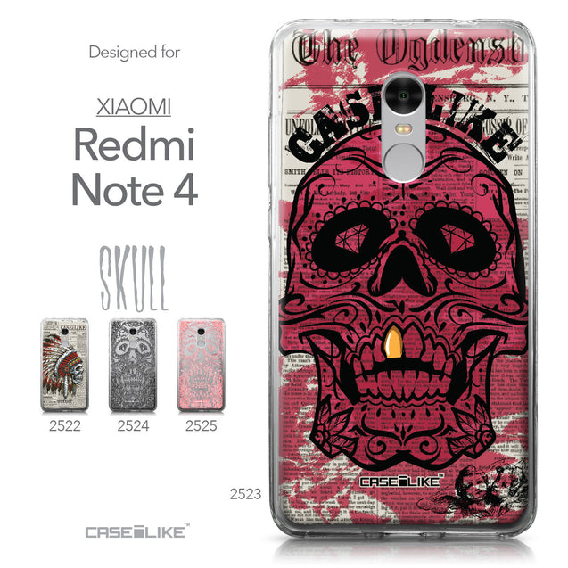 Xiaomi Redmi Note 4 case Art of Skull 2523 Collection | CASEiLIKE.com