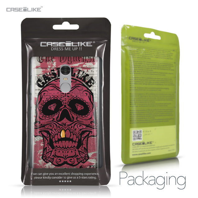 Xiaomi Redmi Note 4 case Art of Skull 2523 Retail Packaging | CASEiLIKE.com