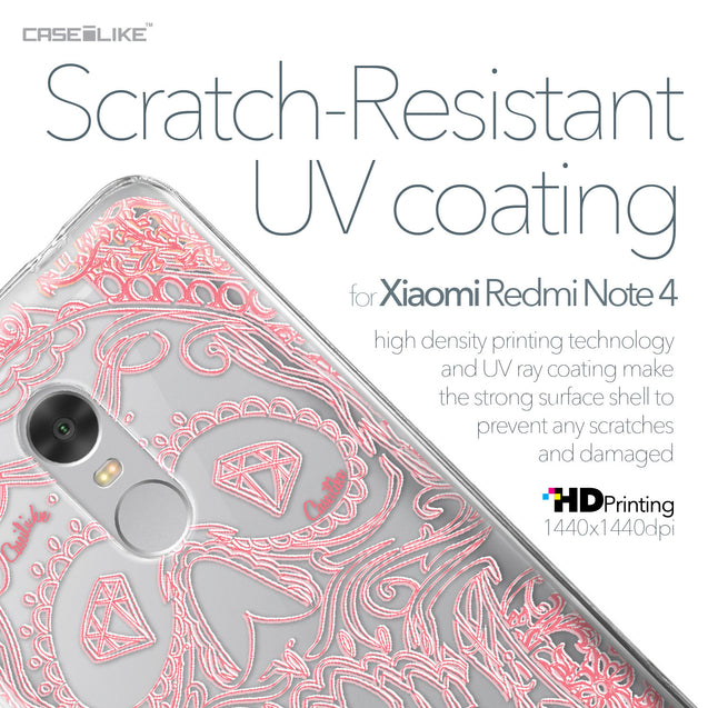 Xiaomi Redmi Note 4 case Art of Skull 2525 with UV-Coating Scratch-Resistant Case | CASEiLIKE.com