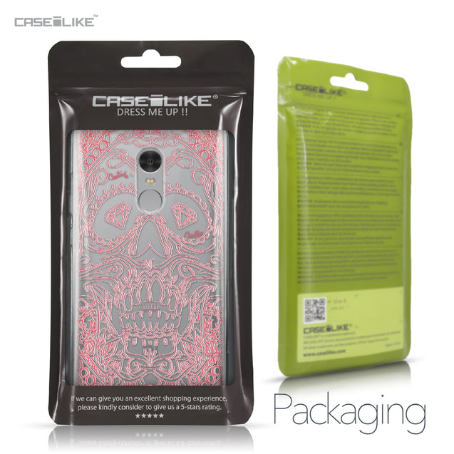 Xiaomi Redmi Note 4 case Art of Skull 2525 Retail Packaging | CASEiLIKE.com