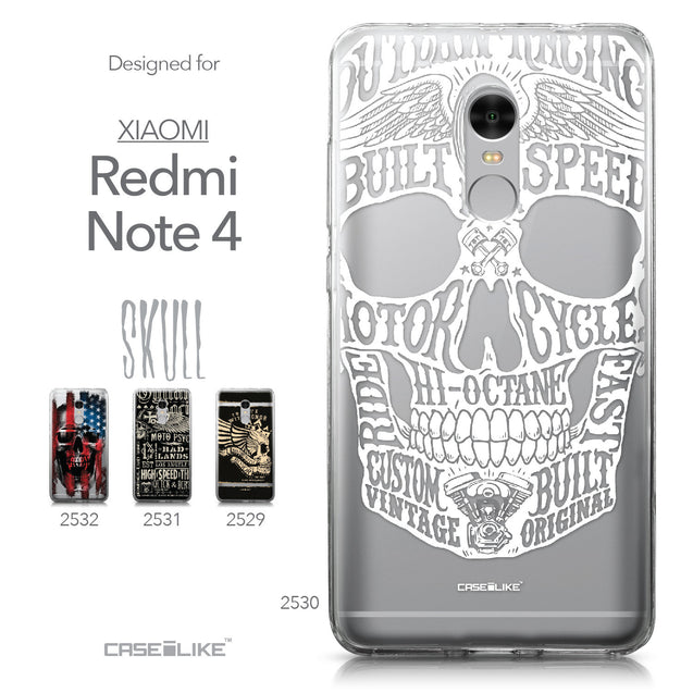 Xiaomi Redmi Note 4 case Art of Skull 2530 Collection | CASEiLIKE.com