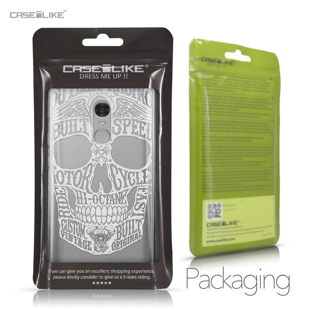 Xiaomi Redmi Note 4 case Art of Skull 2530 Retail Packaging | CASEiLIKE.com