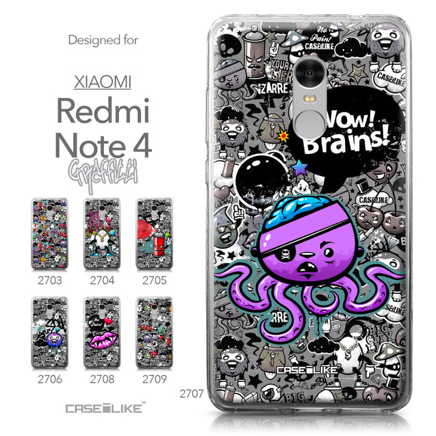 Xiaomi Redmi Note 4 case Graffiti 2707 Collection | CASEiLIKE.com