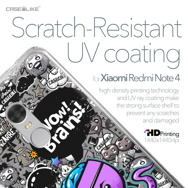 Xiaomi Redmi Note 4 case Graffiti 2707 with UV-Coating Scratch-Resistant Case | CASEiLIKE.com