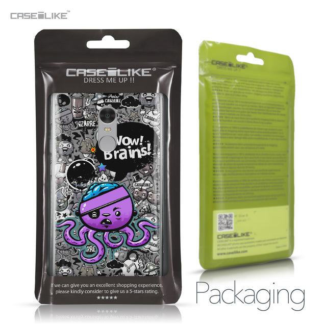 Xiaomi Redmi Note 4 case Graffiti 2707 Retail Packaging | CASEiLIKE.com