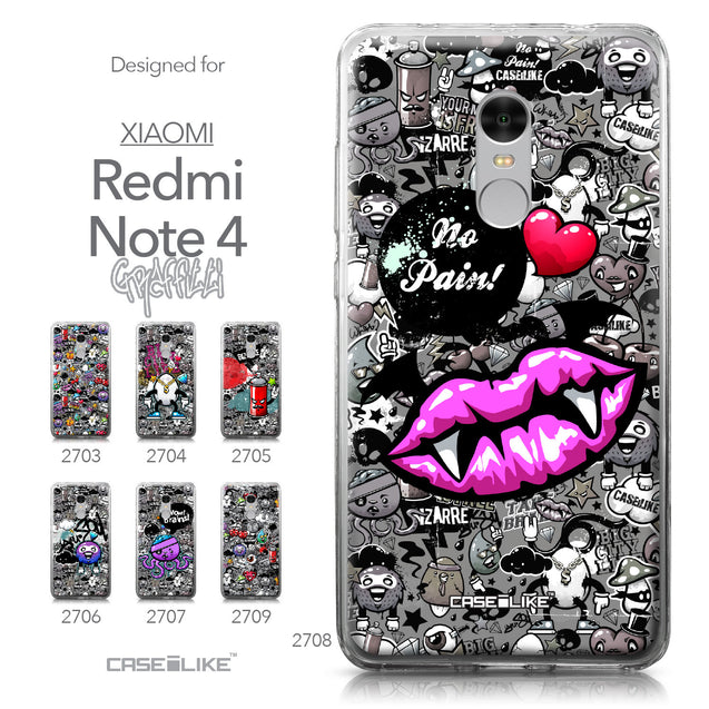 Xiaomi Redmi Note 4 case Graffiti 2708 Collection | CASEiLIKE.com