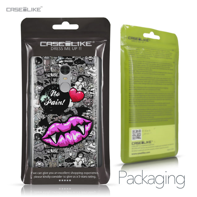 Xiaomi Redmi Note 4 case Graffiti 2708 Retail Packaging | CASEiLIKE.com