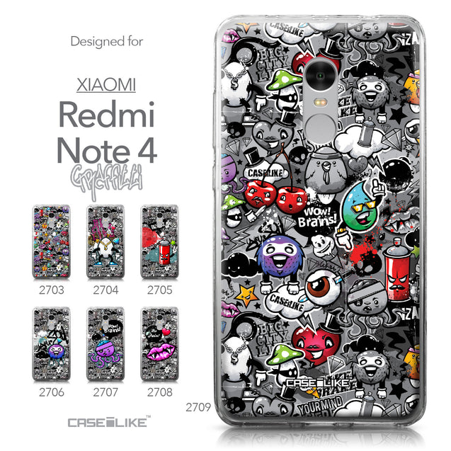 Xiaomi Redmi Note 4 case Graffiti 2709 Collection | CASEiLIKE.com