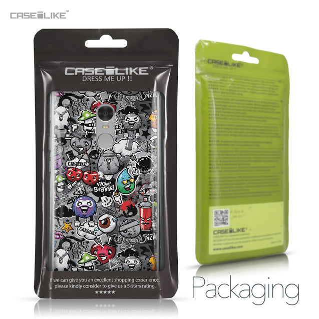 Xiaomi Redmi Note 4 case Graffiti 2709 Retail Packaging | CASEiLIKE.com