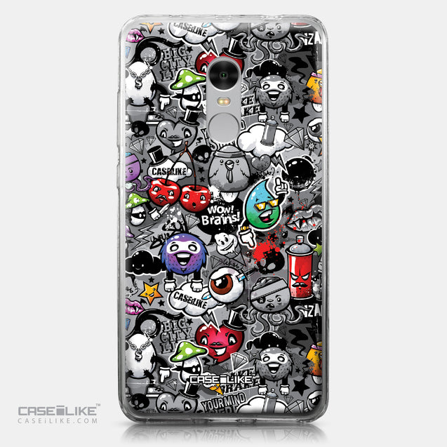 Xiaomi Redmi Note 4 case Graffiti 2709 | CASEiLIKE.com