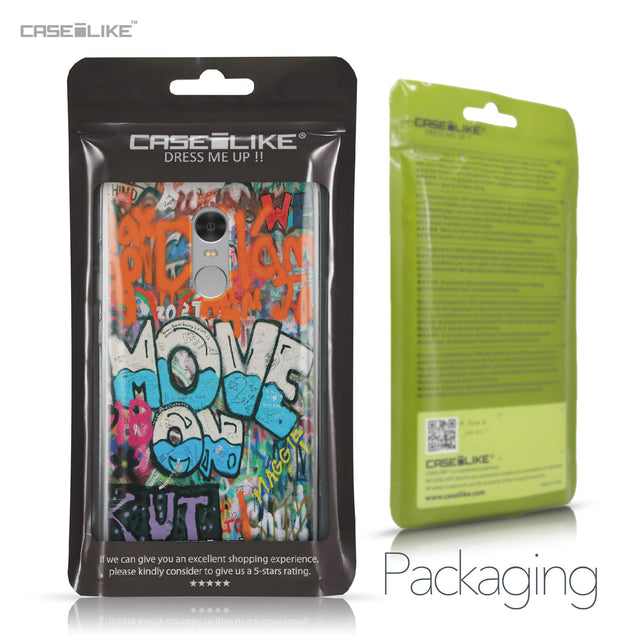Xiaomi Redmi Note 4 case Graffiti 2722 Retail Packaging | CASEiLIKE.com