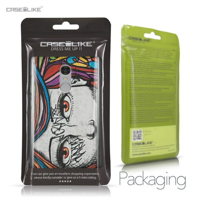 Xiaomi Redmi Note 4 case Graffiti Girl 2725 Retail Packaging | CASEiLIKE.com