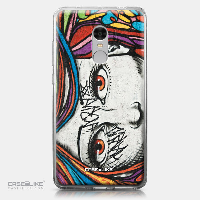 Xiaomi Redmi Note 4 case Graffiti Girl 2725 | CASEiLIKE.com