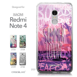 Xiaomi Redmi Note 4 case Graffiti 2727 Collection | CASEiLIKE.com