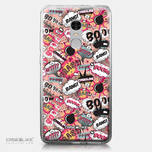 Xiaomi Redmi Note 4 case Comic Captions Pink 2912 | CASEiLIKE.com