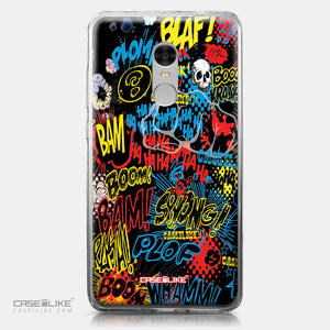 Xiaomi Redmi Note 4 case Comic Captions Black 2915 | CASEiLIKE.com