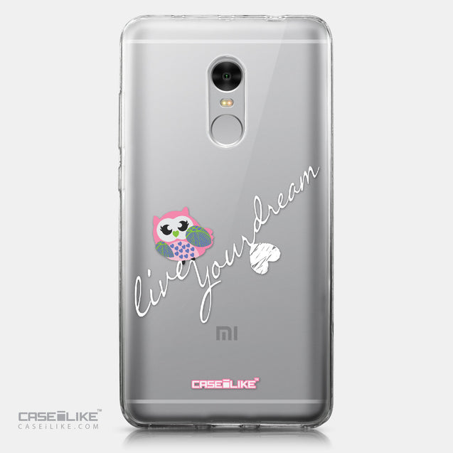 Xiaomi Redmi Note 4 case Owl Graphic Design 3314 | CASEiLIKE.com