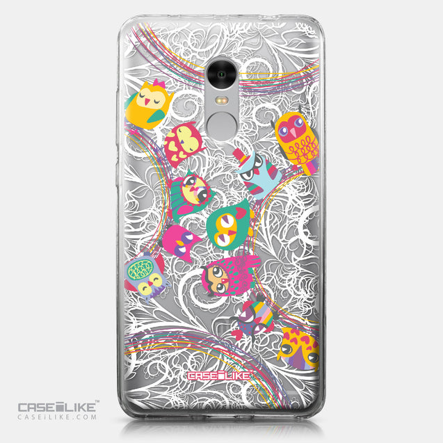 Xiaomi Redmi Note 4 case Owl Graphic Design 3316 | CASEiLIKE.com