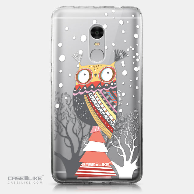 Xiaomi Redmi Note 4 case Owl Graphic Design 3317 | CASEiLIKE.com