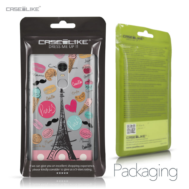 Xiaomi Redmi Note 4 case Paris Holiday 3904 Retail Packaging | CASEiLIKE.com
