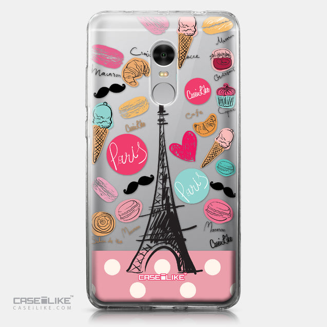 Xiaomi Redmi Note 4 case Paris Holiday 3904 | CASEiLIKE.com